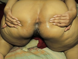 HUGE LOAD IN ANAL QUEEN ASS1