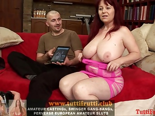 Big tits Suzy is back on strapon