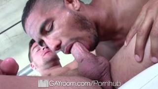 GayRoom - New Toy Warms Up Mike Maverick For Dick