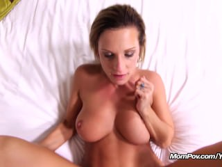 First time MILF with Perfect Bouncy Tits