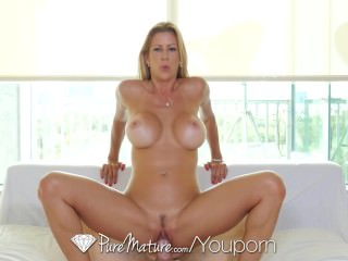PureMature - Tall blonde milf Alexis Fawx fucked and creampied