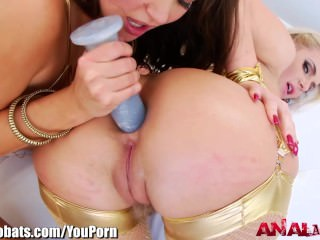 AnalAcrobats Nasty Gaping and Butt Fuck 3Way