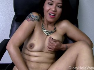 Asian MILF's First Gloryhole Visit