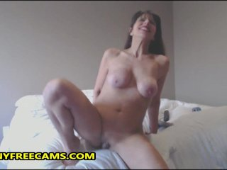 Insane Waterfall Squirt By Wild Milf