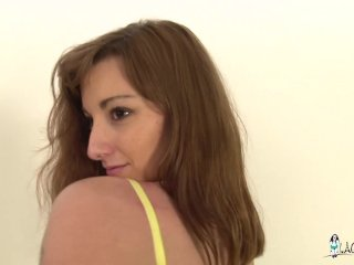 LaCochonne - Slutty French girl Kim getting anal fucked hard and fast