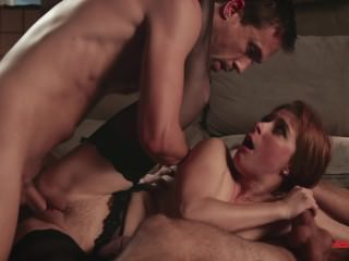 Penny Pax Takes Two Cocks