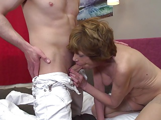 grannies;granny suck and fuck young big cocks