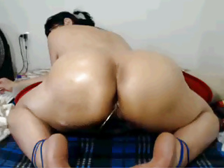 Lovely latina Mature Winking Ass Show