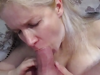 Russian MILF Whore Tania face fucked