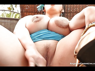 Angelina Castro Makes Her Unstoppable Cuban Pussy SQUIRT!