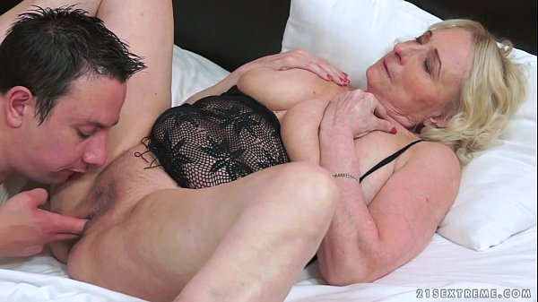 Granny And Her Younger Lover - 6 min HD