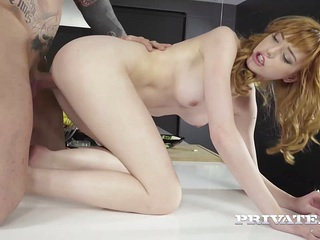 Private.com - Teen Anny Aurora Gets Cum on Salad