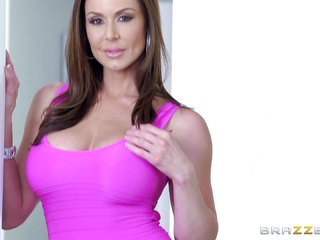 Kendra Lust riding on a stiff dick
