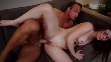 Supreme brunette Casey Calvert is making a best blowjob of my life