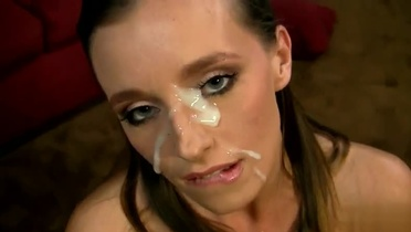 Golden-haired in jizz flow adult video