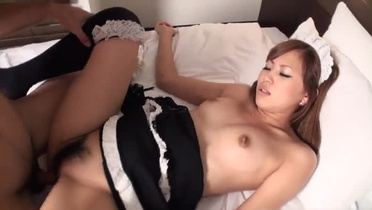Incredible asian threesome porn video
