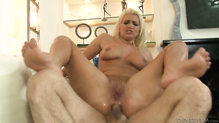 John Strong fucks Layla Price in her mouth as hard as