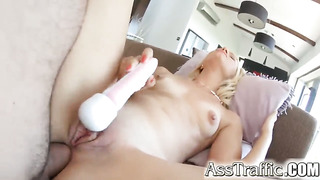 Anal gangbang for an 18 year old