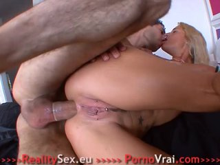 French Tattooed girl loves Hard Anal Sex