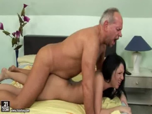 Chanel Fucks An Older Guy At The Bedroom