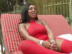 Layton Benton making interracial love