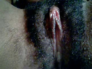 BLACK CUNT CLOSE-UP Clitoris Play and Cunt Juice