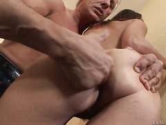 Christoph Clark has unthinkable oral sex with