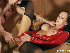 Chantelle Fox with big boobs finds Danny D hot
