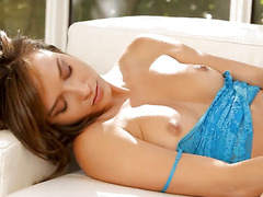 Malena Morgan gets satisfaction alone