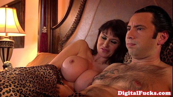Hugetitted milf assfucked and atm deepthroat - 10 min HD