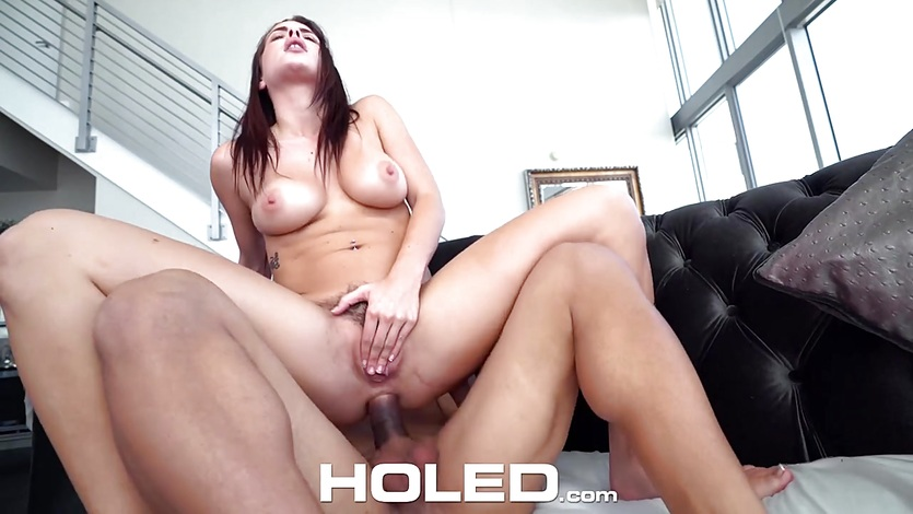 HOLED Keisha Grey clean asshole gets fucked