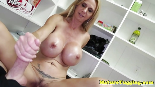 Puremature bigtitted milf seduces her yoga teacher 4