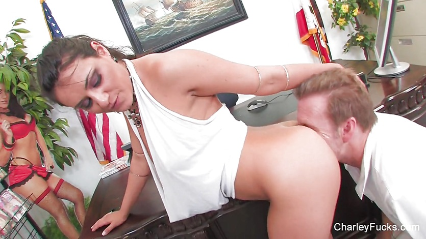 Charley Chase Gets Fucked