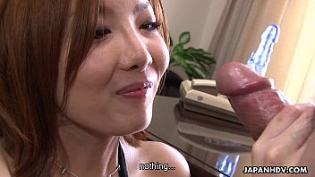 Hot and moaning Asian is vibed and sucks it - 8 min HD