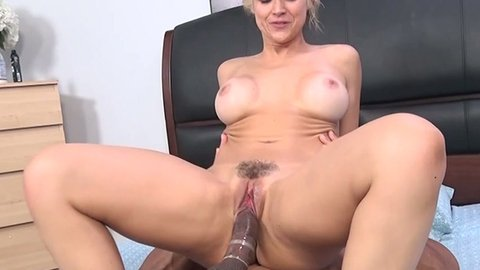 Sarah Vandella is really sensitive down there and she loves big cocks
