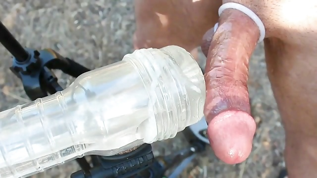 8 inches cock - endless fleshlight fucking