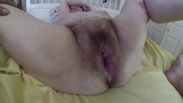 Hairy BBW Messy Creampie Aftermath