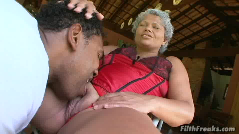 Big ass granny smashed hardcore missionary while moaning