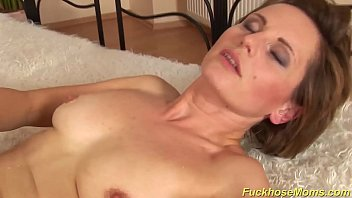 hairy mom gets a strong dick - 12 min HD+