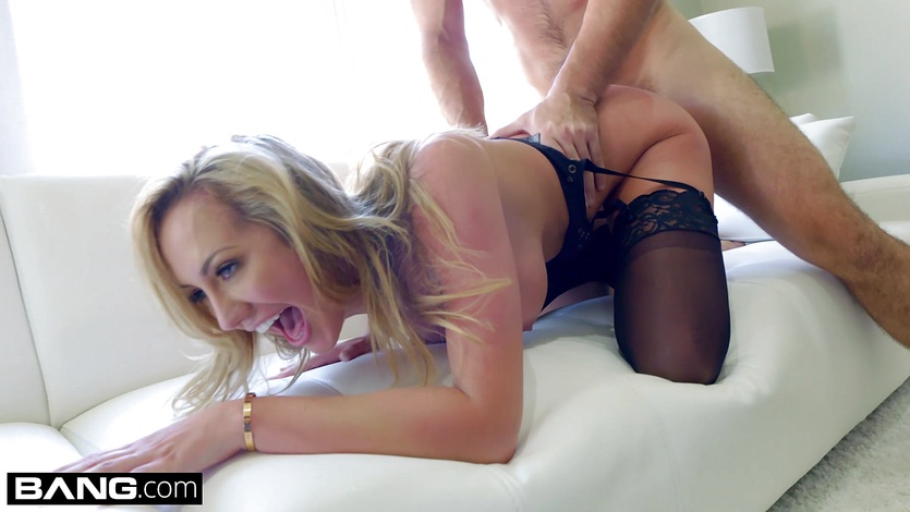 BANG Gonzo Brett Rossi MILF Deep Dicked By A Big Cock
