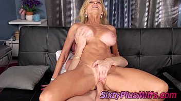 Blonde Granny Hates Her Big Tits Sucked - 7 min