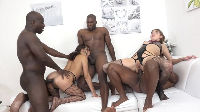 Interracial Orgy Gangbang Trailer Mashup