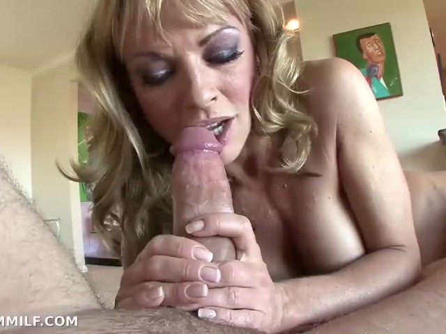MOM POV Sloppy Blow Job & Fuck