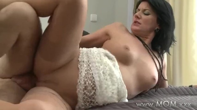MOM Cheating MILF plays away