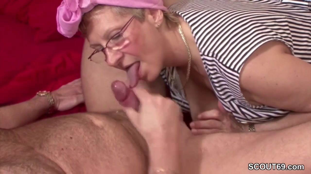 German Grandma and Grandfather fuck the whore Day