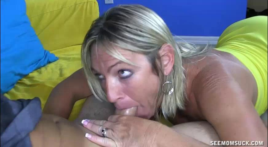 Dominant Milf Pulls Out Young Cock And Starts Suc