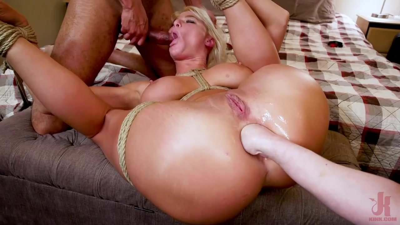 Suburban Slut Battle For Step-Son's Huge Cock