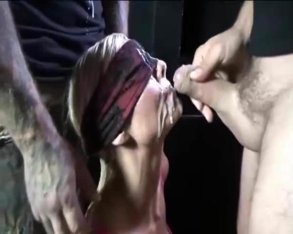 Great bukkake with cum swallow