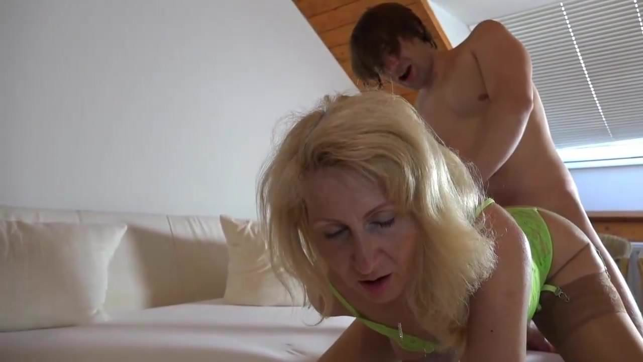 Milf fucking with a Young Student