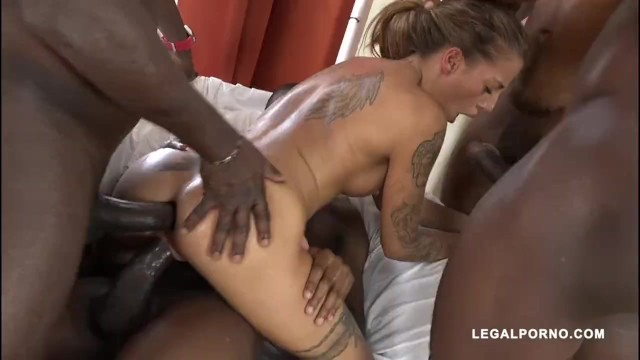 [LegalPorno] Silvia Dellai is back to get fucked by 4 black men
